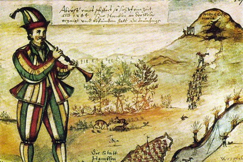 MINEVIKUHETK   26. juuni: müstilise vilepillimehega kadus Hamelnis 130 last