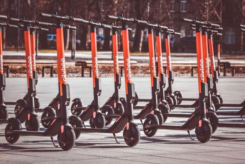 Bolt saab endale konkurendi: Tallinna jõuavad Citybee elektrilised tõukerattad