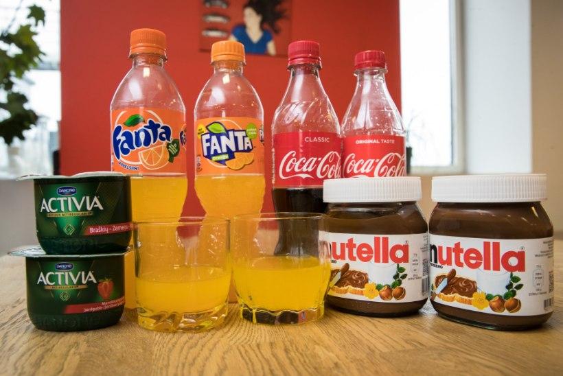 KAS TEADSID? Eestis on Euroopa kõige rasvasemad Oreo küpsised ja lahja Fanta