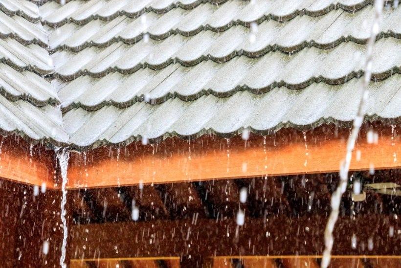 ENNETA LEKET: mida teha, et vihmavesi ühel hetkel katusest läbi ei sajaks?