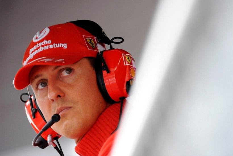 Vormelilegend Schumacheri lähedane sõber: Michael pole alla andnud!
