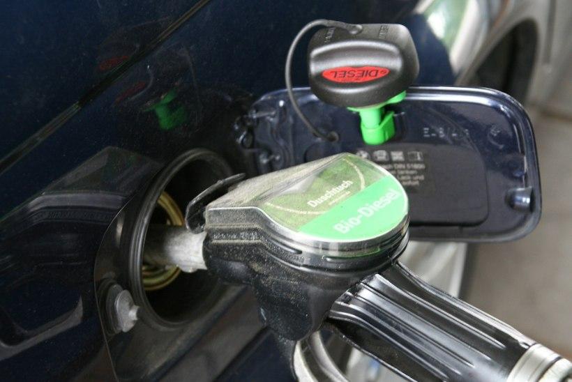 Mida teha, kui paaki satub vale kütus?