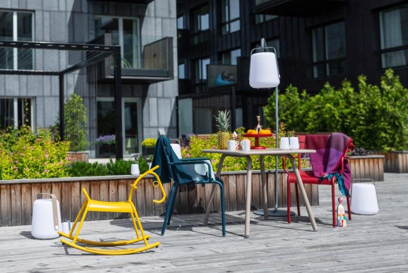 Nutikalt sisustatud terrass on korteri lisatuba terveks suveks