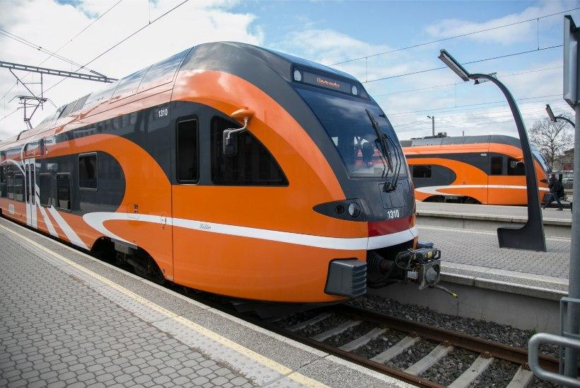 Valitsuse otsusel sõidavad 2028. aastaks kõik rongid elektri jõul