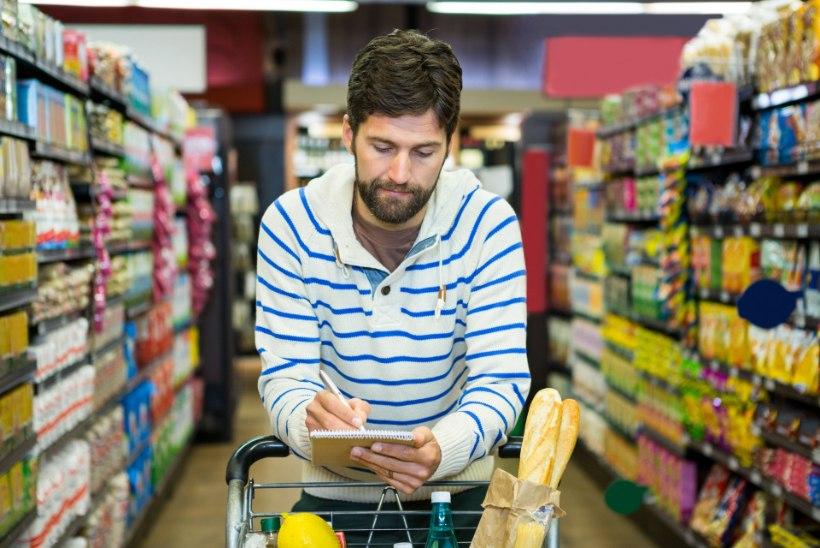 UURING: Eesti mehed ei soovi raisata aega toidupoes ostlemisele