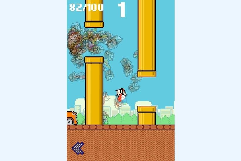 """""""Flappy Bird"""" on tagasi, ent sel korral võitled sa 99 teise abitu linnuga"""