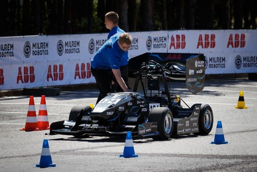 ÕL VIDEO JA FOTOD | BALTIMAADES ESIMENE! Eesti tudengitel õnnestus luua isejuhtiv vormelauto
