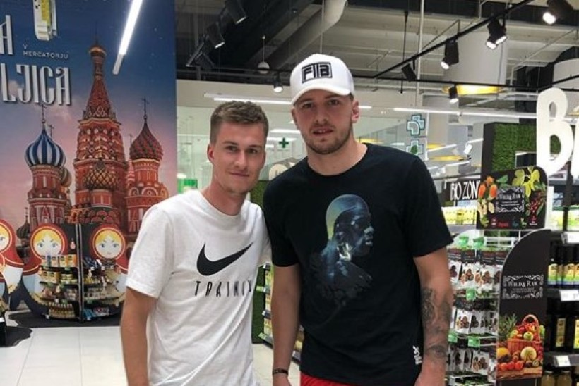 FOTO | ILUS SÜNNIPÄEVAKINK! Mattias Käit kohtas kohalikus toidupoes NBA superstaari