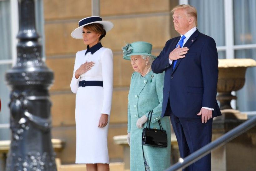 Lõpeb USA presidendipaari riigivisiit Suurbritannias