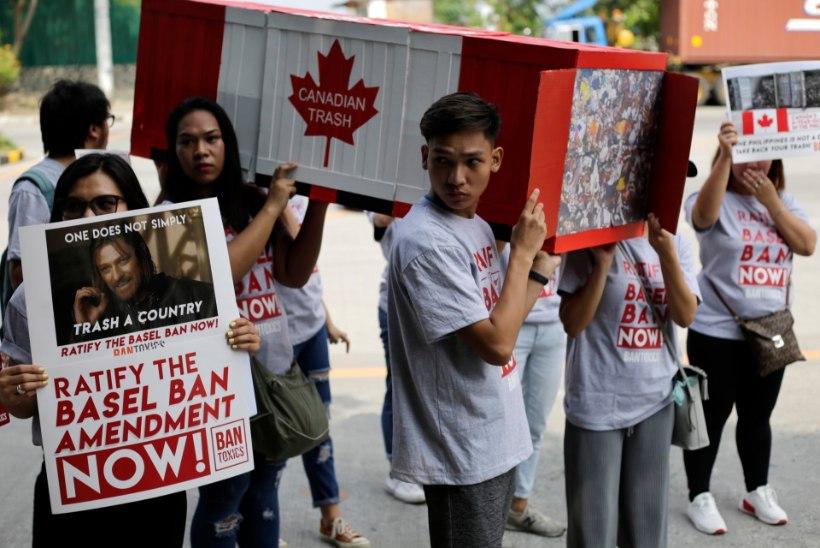 SÄH, VÕTKE OMA RÄMPS TAGASI! Malaisia, Tai ja Filipiinid ei taha enam olla Lääne prügikastid