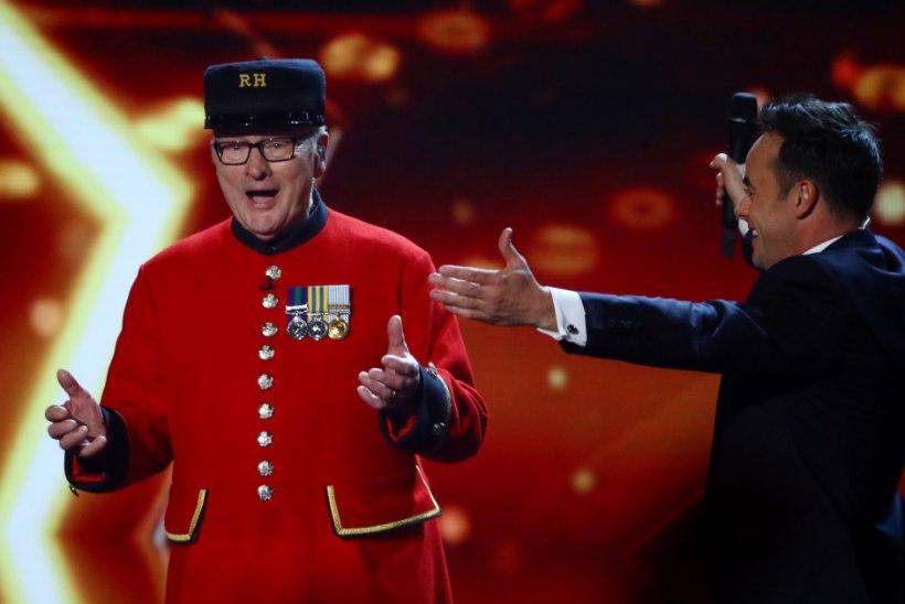 Briti talendisaate võitis 89aastane sõjasangar