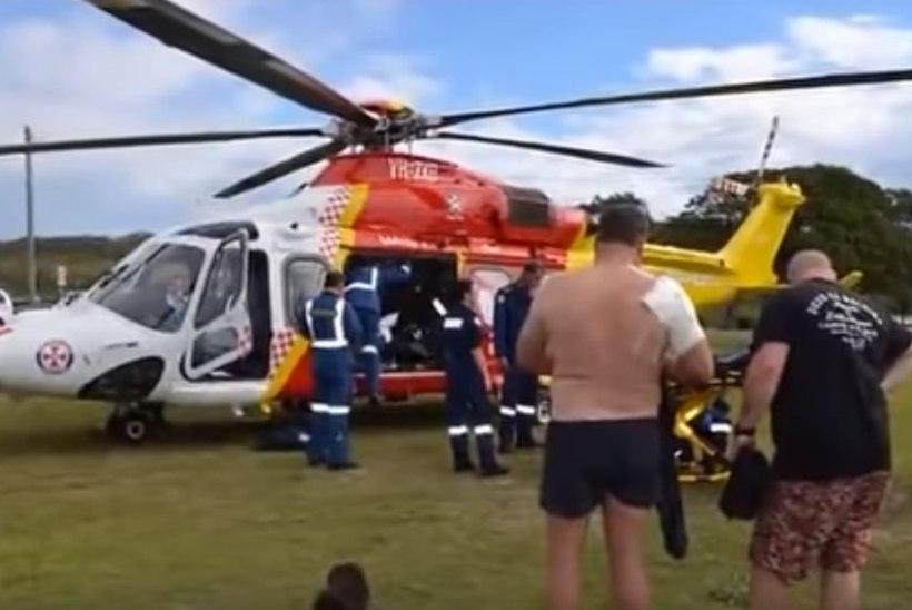 Üle paadi hüpanud hiidkala vigastas kaht kalameest