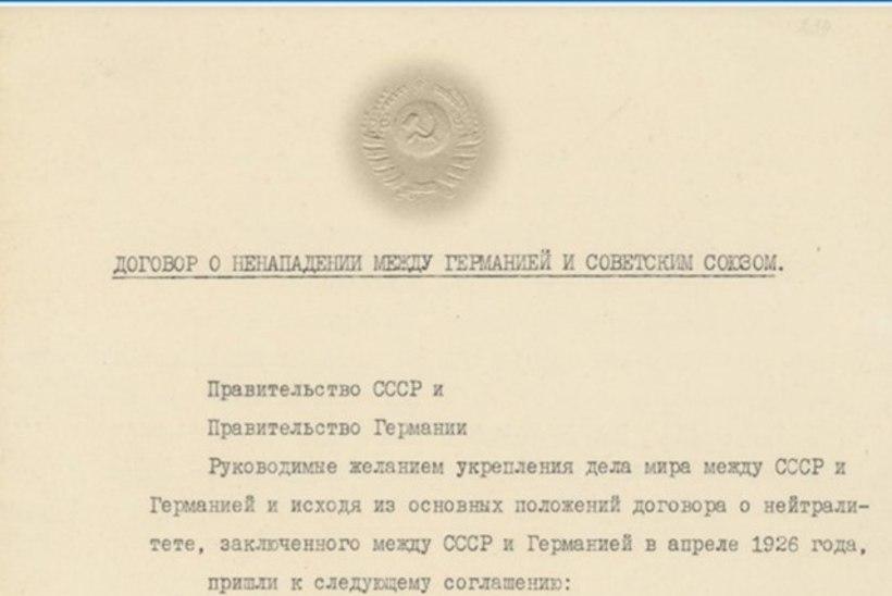FOTOD | Vene teadurid avaldasid kurikuulsa Molotovi-Ribbentropi pakti originaali koos Eesti Venemaale andnud salaprotokolliga