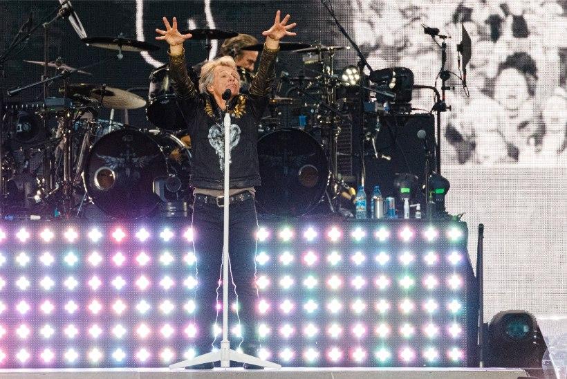 ÕL GALERII JA REPORTAAŽ | Bon Jovi pakkus publikule tõelise elamuse ja täitis fänni eluunistuse