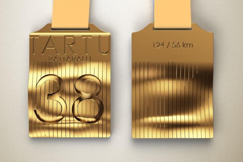 APSAKAS VÕI PARATAMATUS? Tartu Rattaralli medalitele graveeriti vale distantsi pikkus