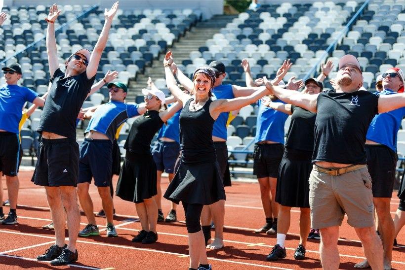 GALERII | Tallinnas hakati tantsupeoks valmistuma