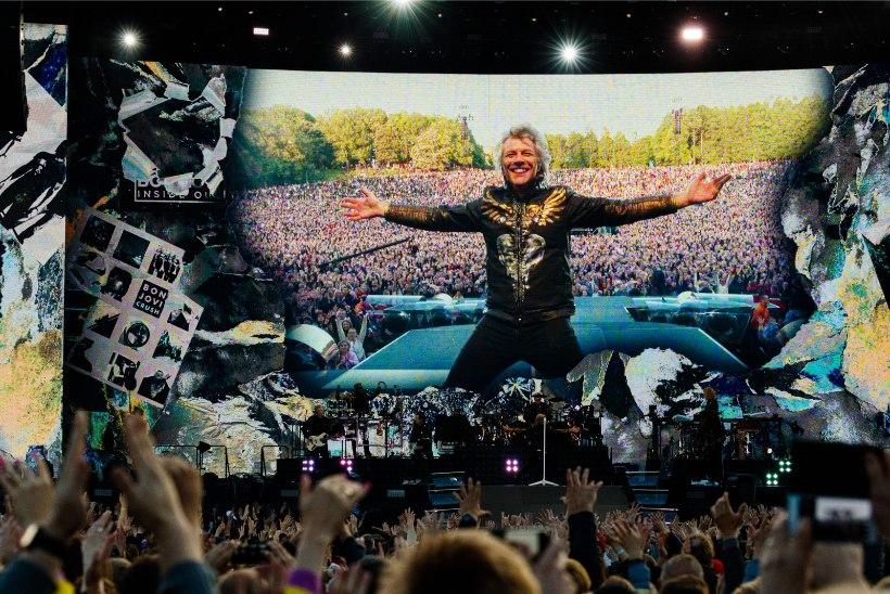 FOTO | Jaagup Kreemi 16aastane poeg sai Bon Jovi kontserdilt meeldejääva mäletuse