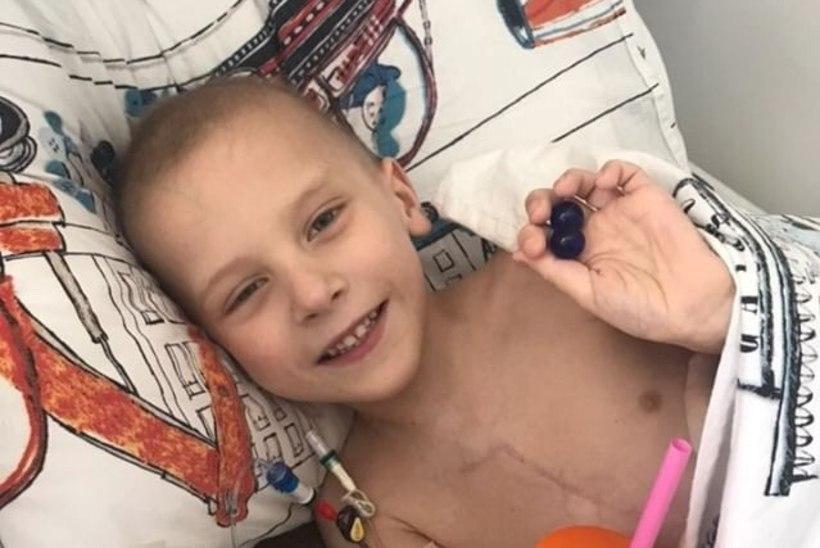 Suri viieaastane poiss, kellest sai Lewis Hamiltoni ingel