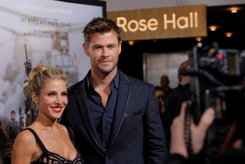 Chris Hemsworth teeb mõneks ajaks näitlemisega lõpparve, et perega aega veeta