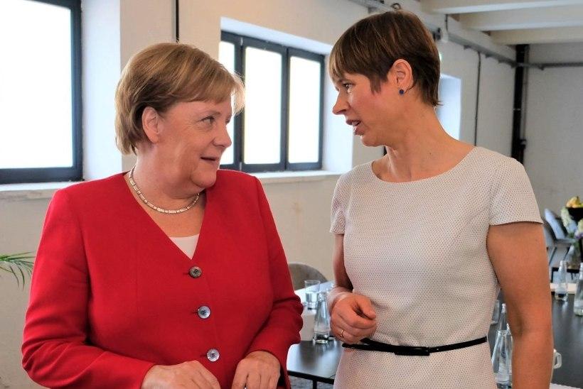 FOTOD | President Kaljulaid arutas Berliinis Merkeliga digikoostööd ja olukorda Ukrainas
