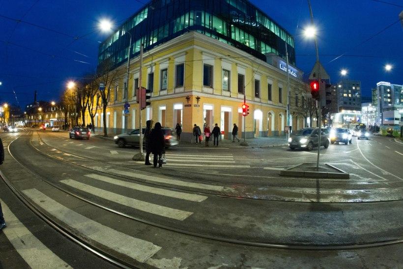 На кругу площади Виру появятся регулировщики муниципальной полиции
