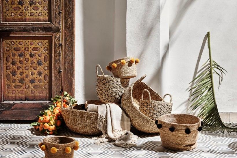Uus H&M HOME suvealguse kollektsioon on inspireeritud Marokost