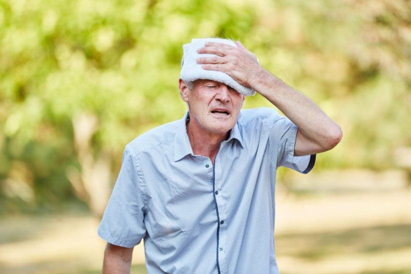 TUNNE ÄRA KUUMARABANDUS: palavus kurnab eriti lapsi ja kroonilisi haigeid