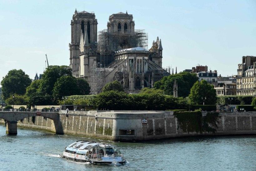 ARHITEKT: Notre-Dame'i katedraal võib iga hetk kokku variseda