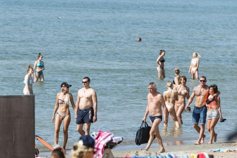 GALERII | Suvesoe ajas inimesed randa päikest nautima