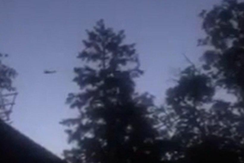 VIDEO   Kaitseväe kopterid ei lase magada. Ärritunud elanik: mis õigusega nad öörahu rikuvad?