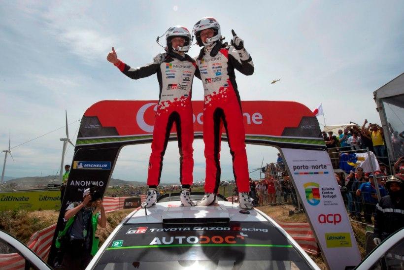 WRC kodulehekülg tunnustas Tänakut