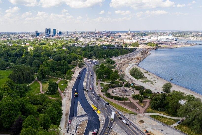 DROONIVIDEO JA -FOTOD | Vaata, kuidas edeneb Reidi tee ehitus!