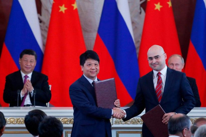 Huawei sõlmis Vene telekomifirmaga lepingu 5G arendamiseks