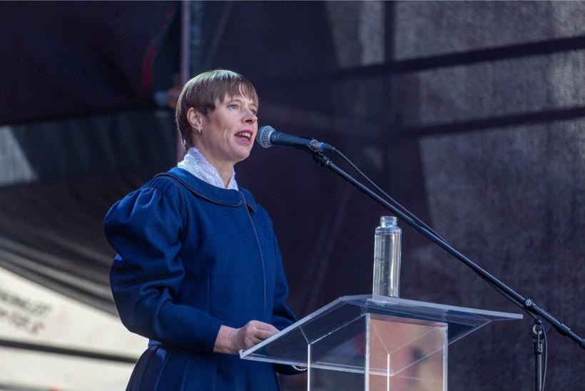 President Kaljulaid ÜRO julgeolekunõukogusse pürgimisest: keegi ei suuda meist paremini küberküsimusi analüüsida
