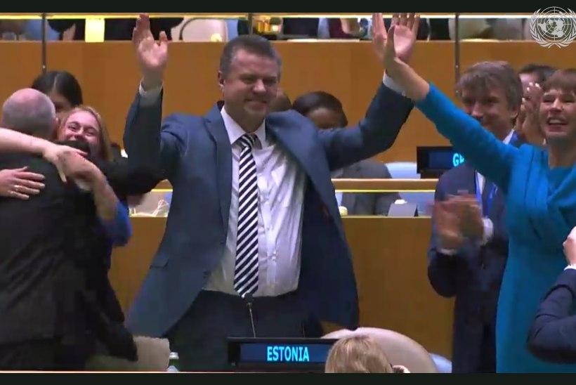 EDUKAS TEINE VOOR: Eestist saab ÜRO julgeolekunõukogu liige!