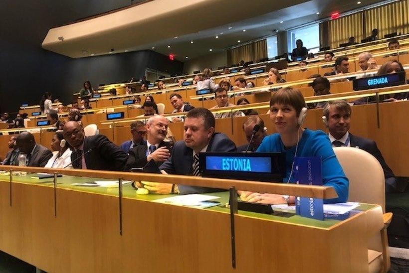 Välisminister Reinsalu: ÜRO julgeolekunõukogu liikmena saab Eesti maailmakaardil palju suuremaks
