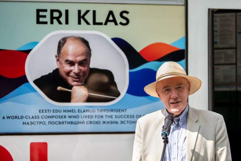 GALERII | Olav Ehala Eri Klasi nimelise trammi teelesaatmisel: tänu temale on minu loomingus üks oluline teos juures