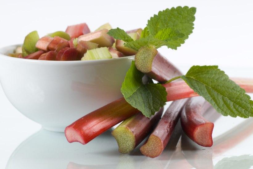Särtsakas rabarber: väheke haput kulub ära nii koogile kui salatile