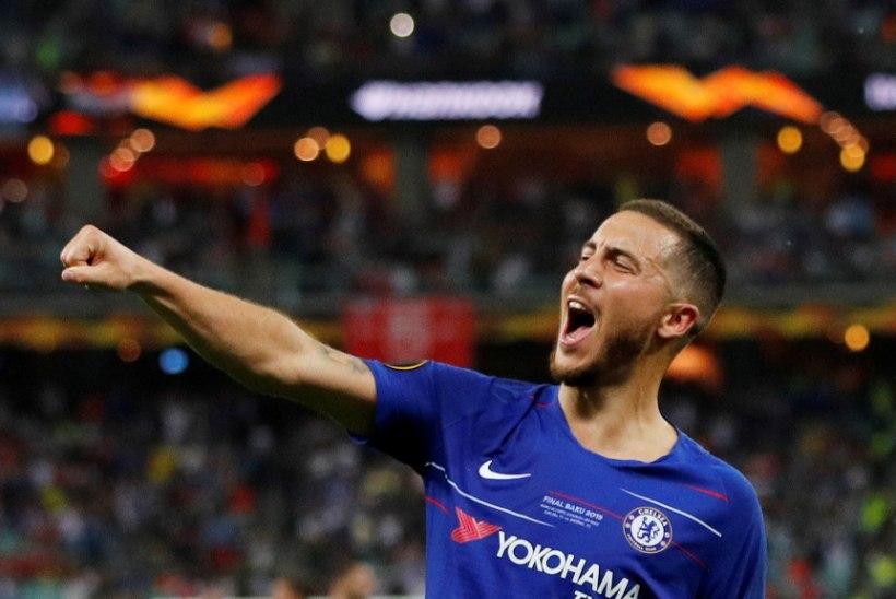 Real ostis Chelsea'st Eden Hazardi, summa võib kasvada kosmiliste kõrgusteni