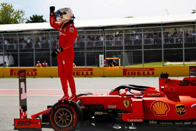 KANADA GP: Vettel võitis kvalifikatsiooni uue rajarekordiga, üllatusmees pressis end tippude vahele