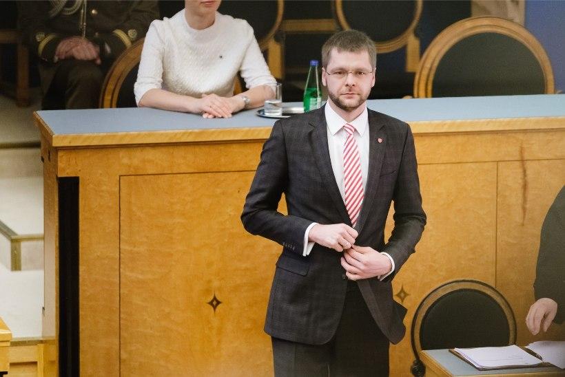 """Ossinovski eneseiroonia: """"Ärge lubage erakonna esimeest sotsiaalministeeriumi!"""""""