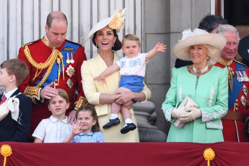 Noor ema Meghan ilmus kuninganna paraadil avalikkuse ette
