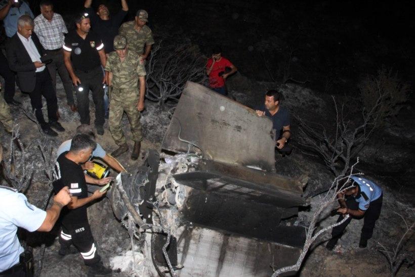 Küprose mägedes plahvatas teelt eksinud rakett