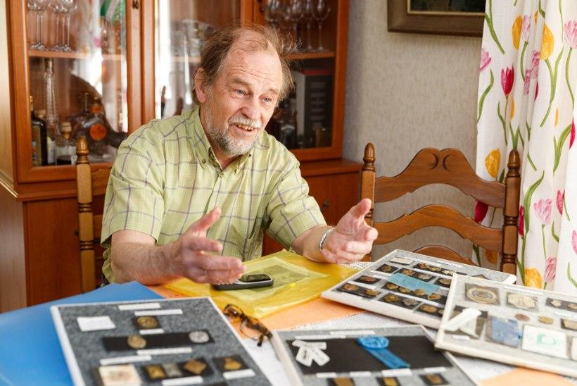 Aastakümneid laulu- ja tantsupeomärke kogunud Mart Puust otsib oma haruldasele kogule kosilast