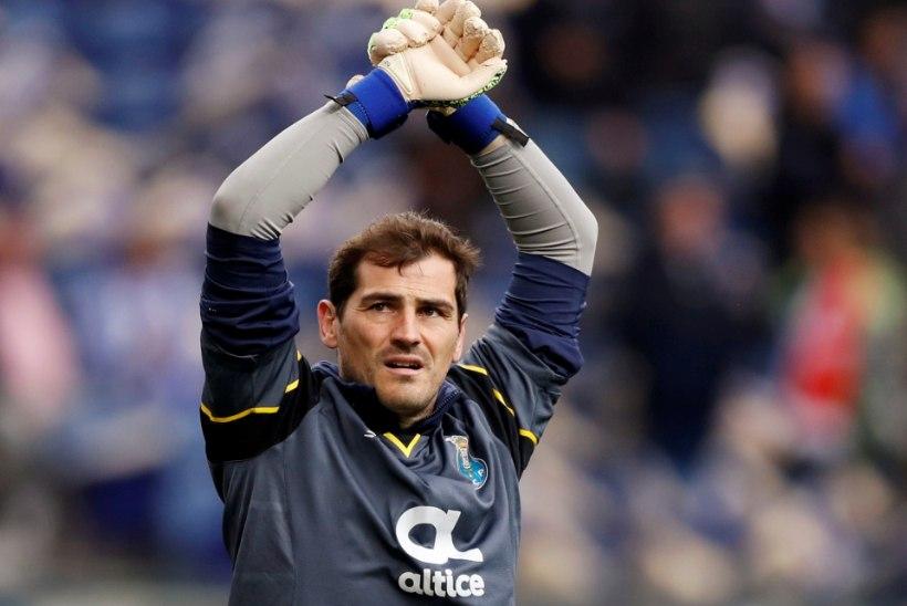 FOTO | Hiljuti südamerabanduse üle elanud Iker Casillas on tagasi treeningutel
