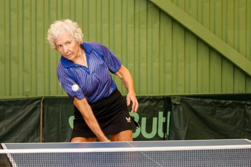 Tehke järele! Lauatennisist Mare Kabrits läheb 74aastaselt Euroopa meistrivõistlustele!