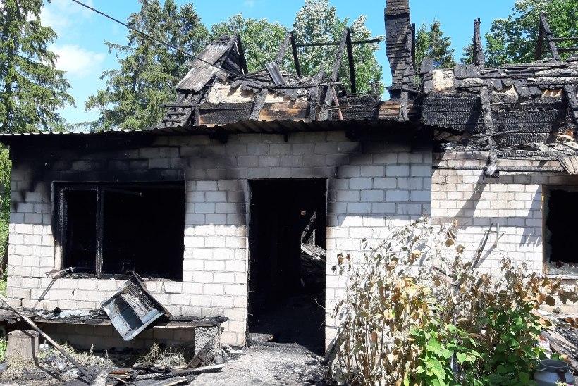 FOTOD | JULM MÕRV: süüdatud kodus hukkunud 16aastane poiss oli enne põlengut veel elus