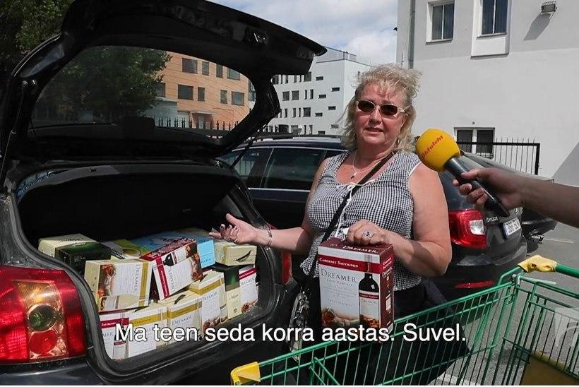 ÕL VIDEO | Langenud alkohind lõi soomlastel silma särama: varasemaga võrreldes säästsin pea sada eurot!