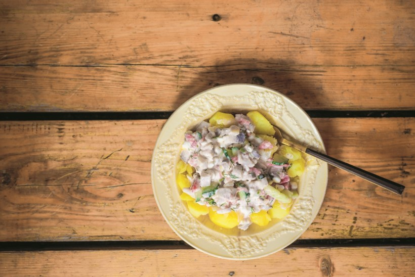 Hõrgutis, mis maitseb kõige paremini just südasuvel: heeringa-kodujuustukaste värske kartuliga