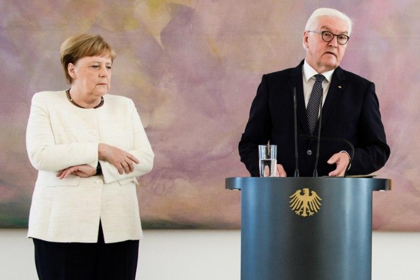 VIDEOD | MAAILM MURES: liidukantsler Angela Merkel värises jälle